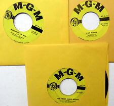 ARTHUR Guitar Boogie SMITH lot of 3 x 45 Singles COUNTRY Bopper Instr.   w3751