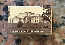 1920S Celluloid Match Safe Auckland, N.Z. With Matches