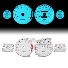 WHITE INDIGLO GLOW GAUGE EL DASHBOARD CLUSTER FOR 2G ECLIPSE/TALON TURBO AT/MT