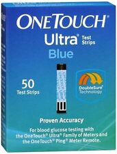 OneTouch Ultra Test Strips Blue 50 Each
