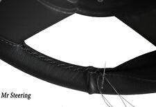 Convient à chevrolet bel air 5 Cuir véritable Couverture volant gris stitch 1961-1964