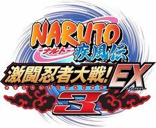 USED Naruto Shippuuden: Gekitou Ninja Taisen EX 3 japan import Nintendo Wii