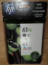 Genuine Brand new Sealed HP 61XL Tricolor Combo Ink Cartridges Pack Free Ship