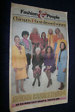Vintage Jan 26 1986 Chicago Sun-Times Fashion & People Chicago's 10 Best Dressed