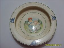 RARE Antique Vintage Campbell's Soup Company Kids Advertising Baby's Plate Elpco