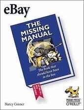 Missing Manual: eBay by Nancy Conner (2005, Paperback)