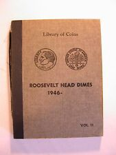 Library of Coins Album, Roosevelt Head Dimes 1946, Vol. 11