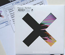 "The XX 7"" Fiction / Together 500 MADE Limited Edn. Deluxe Slv. + PROMO SHEET"