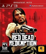 Red Dead Redemption  (Sony Playstation 3) Greatest Hits Version Rockstar Games