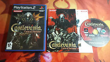 CASTLEVANIA: CURSE OF DARKNESS PLAYSTATION 2 PS2 ENVÍO 24/48H