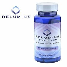 3 Bottles Relumins Advanced White Oral Glutathione White Caps NEW w/ Rose Hips