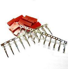 Radio Control Rc Jst Bec Set Conector Hembra Macho batería interruptor enchufe Estaño Plateado 5