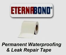 "4"" x 50 ft Eternabond Roof Leak Repair Tape Patch Seal - WHITE - 50 Feet 50 Foot"