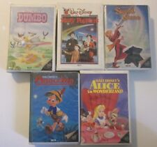 5 Disney Beta Movies Alice In Wonderland Pinocchio Sword Stone Dumbo Poppins