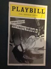 DURAN DURAN RED CARPET MASSACRE SIGNED PLAYBILL NICK RHODES ROGER TAYLOR