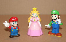 1994 Princess Peach / Super Mario / Luigi old retro mini Figure Figur Nintendo