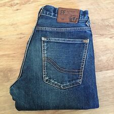 MENS FAT FACE JEANS STRAIGHT  SIZE W30 L32 IN EXCEL CONDITION BLUE