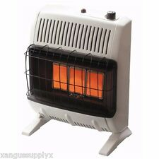 Vent Free Infrared Radiant Gas Propane Heater 20K BTU  LP For Garage, Shop, Barn