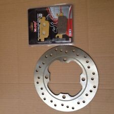 HONDA FES125 FES150 Pantheon S-Wing Rear Brake Disc & Pad Kit 2007 - 2012