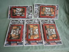 AB504c WWE RIVALS STICKERS TOOPS 5 LOT DE 8 POCHETTES Ed 2008 NEUF
