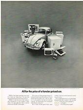 Vintage 1967 Magazine Ad Volkswagen Package Not Fancy & Pricey Its Just $1639