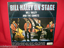 BILL HALEY and the COMETS On Stage Live in Stockholm Double LP 1983 ITALY MINT-