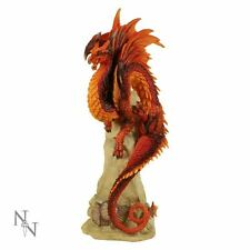 Nemesis Now - Ruby Sentinel Dragon Figurine by Andrew Bill - 27cm