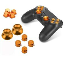 PhoneStar Sony Playstation 4 Dualshock 4 Controller Aluminium Buttons in Gold