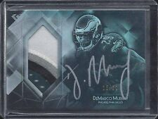 DEMARCO MURRAY 2015 TOPPS DIAMOND SILVER 4 COLOR PATCH AUTO #D 15/50