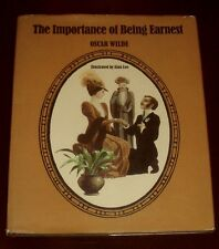 'THE IMPORTANCE OF BEING EARNEST' by OSCAR WILDE: Illustrated : Alan LEE : 1971