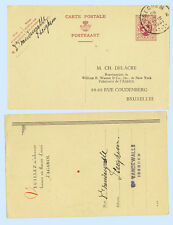 Belgium 1931 Change of Address Postal Stationery Card H&G #126 Iseghem  Brussels