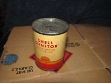 SHELL SONITOR OIL CAN Corrosion Inhibitor for FUEL TANK TREATMENT Original NOS