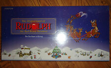 The Original Board Game of Rudolph the Red-Nosed Reindeer~The Fun Game of Giving