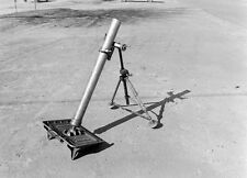 WW2 Photo WWII  US 60mm Mortar World War Two Infantry Weapon World War Two/ 1495
