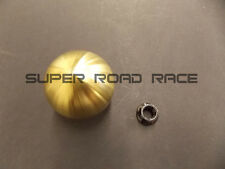 BLOX 490 SPHERICAL SHIFT KNOB 10X1.5 GOLD FOR HONDA FOR ACURA