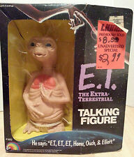 E.T. The Extra Terrestrial - Talking Figure