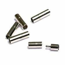 50pcs steel bayonet clasps fit 2mm jewelry cords Connector Settings