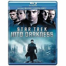 STAR TREK INTO DARKNESS - BLU RAY - NEW / SEALED - UK STOCK