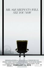 "037 The SpongeBob Movie Sponge Out of Water - 2015 Movie Film 14""x22"" Poster"