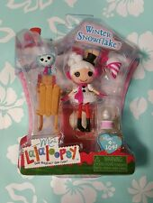 New Mini Lalaloopsy Winter Snowflake Christmas Doll