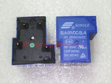 10PCS 4pins SLA-05VDC-SL-A T90 30A 250VAC/30VDC SONGLE Relay