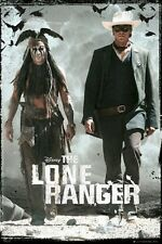 THE LONE RANGER MOVIE POSTER ~ DUO WALKING 24x36 Johnny Depp Armie Hammer