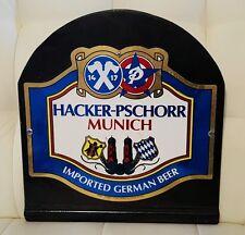 Hacker-Pschorr Munich German Beer Sign