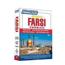 NEW 5 CD Pimsleur Learn to Speak Basic Farsi (Persian) Language