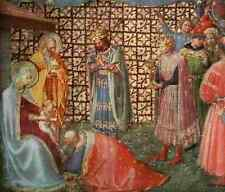 A4 Photo Fra Angelico c1395 1455 Adoration of the Magi The Adoration of the King