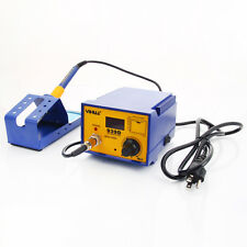 YIHUA 939D 110V 80W Rework Electric SMD Soldering Station Tool Kit w Iron Stand