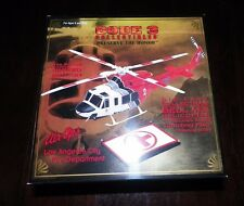 CODE 3 LTD ED LOS ANGELES CITY BELL 412 HELICOPTER NEW IN BOX WITH LANDING PAD
