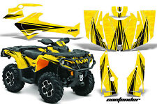 Can Am AMR Racing Graphics Sticker Kits ATV CanAm Outlander SST Decals 2012 CONY