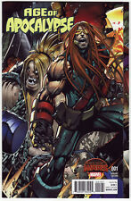 AGE OF APOCALYPSE #1 2015 Secret Wars 1:200 Sandoval Gatefold VARIANT