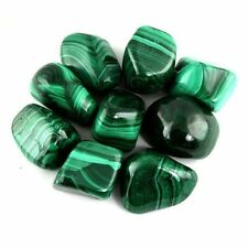 1lb Bulk Tumbled Polished Natural Crystals Malachite Stones from South Africa